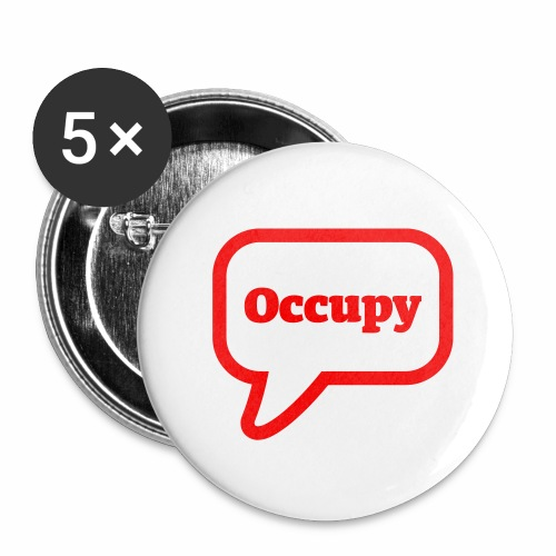 Occupy - Buttons mittel 32 mm