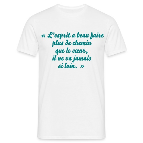 TShirt homme proverbe chinois - T-shirt Homme
