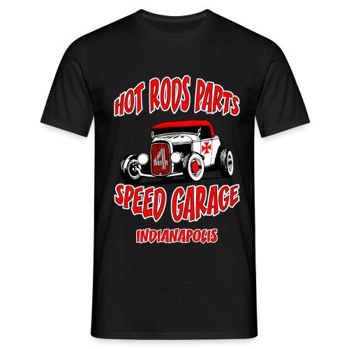 hot rods parts t-shirt - Men's T-Shirt
