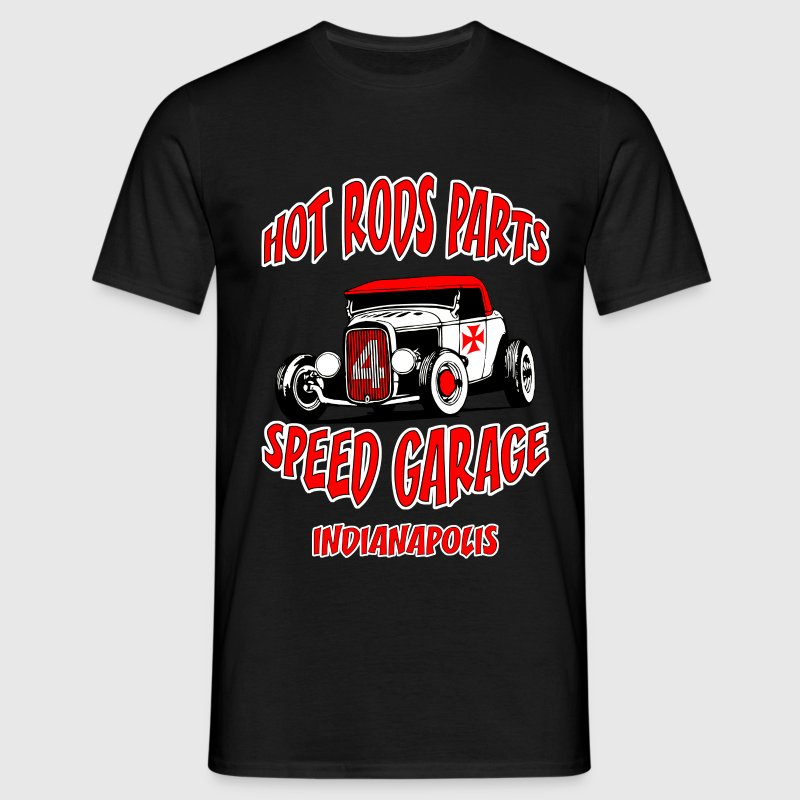 hot rods parts t-shirt - T-shirt Homme