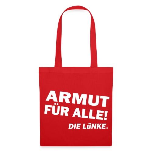 ARMUT FÜR ALLE! - Stoffbeutel