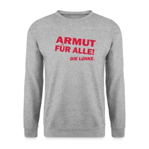 ARMUT FÜR ALLE! - Männer Pullover