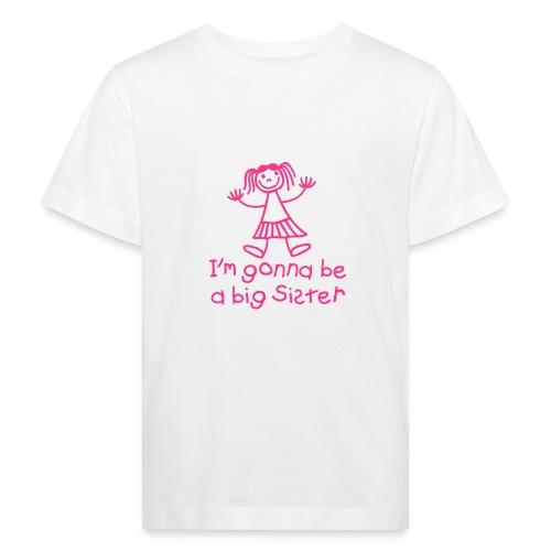 Big sister t-shirt - Kids' Organic T-Shirt