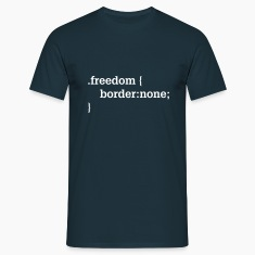 Freedom, CSS, HTML T-Shirts