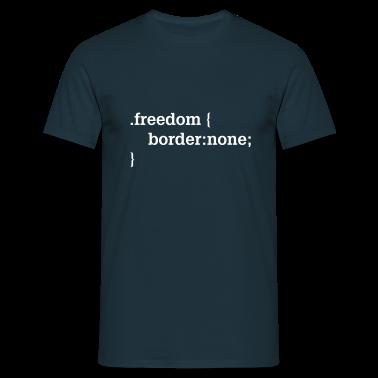 Liberté, CSS, HTML Tee shirts