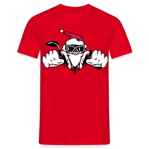 Santa Biker - Limited Edition - T-shirt Homme