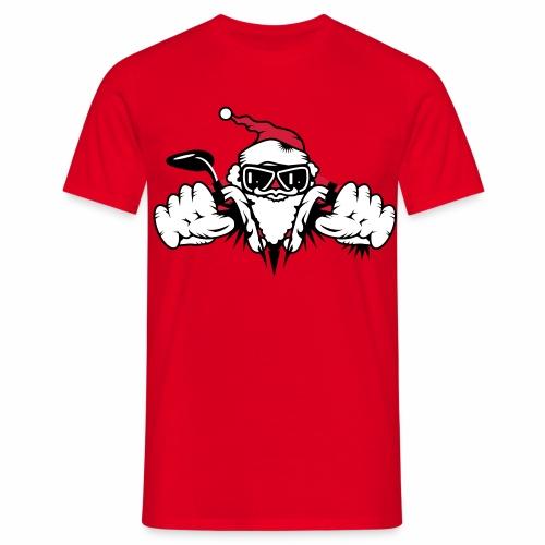 Santa Biker - Limited Edition - Men's T-Shirt
