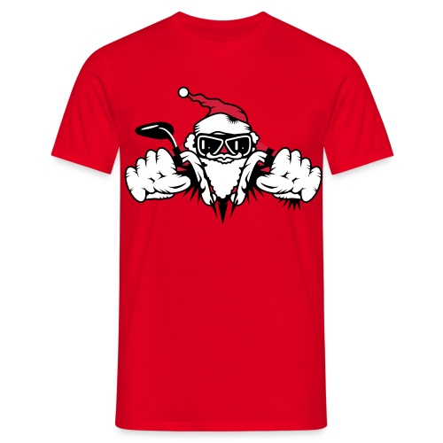 Santa Biker - Limited Edition - Men's T-Shirt