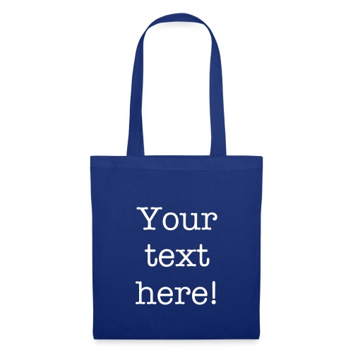 Personalized Tote Shopping Bag - Tote Bag