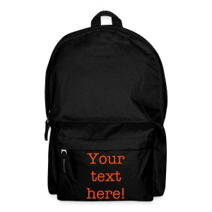 Personalized Backpack - Backpack