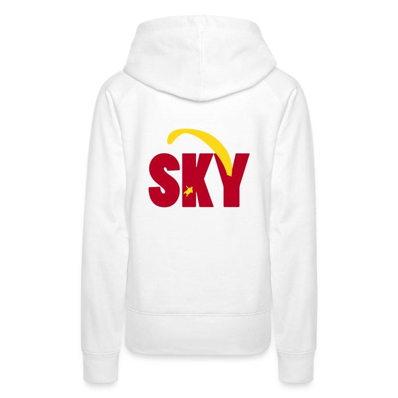 high up in the sky - Frauen Premium Hoodie