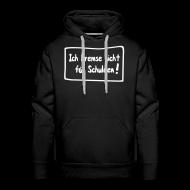 Pullover & Hoodies ~ Männer Premium Kapuzenpullover ~ Schuldenbremse - Kapuzensweater