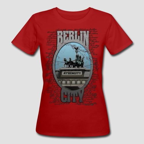 BERLIN CITY ATZENCITY Klimaneutral Frauen - Frauen Bio-T-Shirt