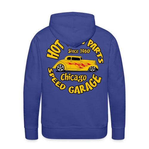hot rods parts sweatshirt - Men's Premium Hoodie