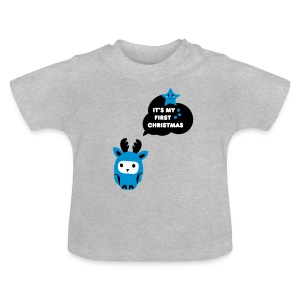 first christmas Baby T-Shirts - Baby-T-skjorte
