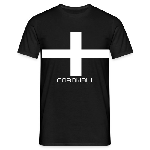 Cornwall Flag 1 - Men's T-Shirt