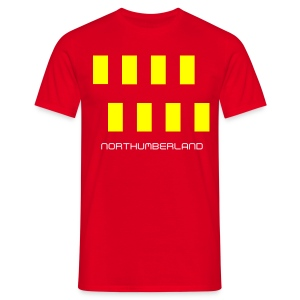 Northumbria Flag 1 - Men's T-Shirt