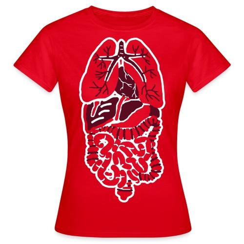 Inside out - Frauen T-Shirt
