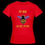 Tee shirts ~ Tee shirt Femme ~ To bee femme rouge