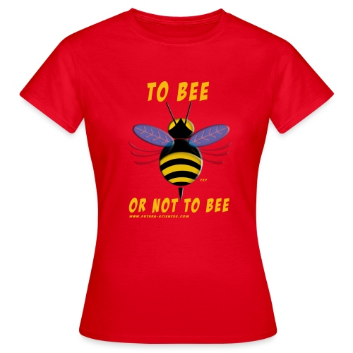 To bee femme rouge - T-shirt Femme