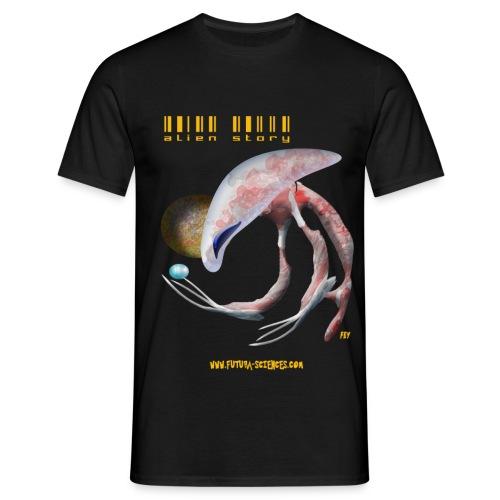 Alien medusa homme noir - T-shirt Homme