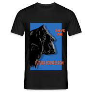 Tee shirts ~ Tee shirt Homme ~ Save Gorille homme noir