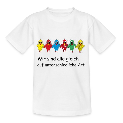 Chickie Weisheit 1 - Teenager T-Shirt