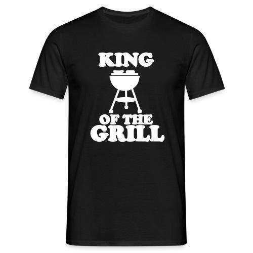 Camiseta REY DE LA PARRILLA - Calidad EXTRA - 190 gramos  - Camiseta hombre