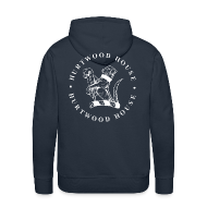 Hoodies & Sweatshirts ~ Men's Premium Hoodie ~ MENS HOODIE, BIG DOG LOGO ON BACK!