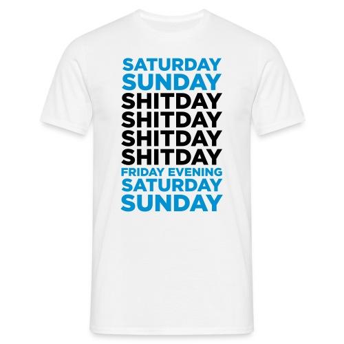T-shirt 18 - T-skjorte for menn