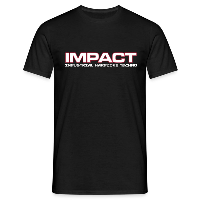 Impact Classic Mens T-Shirt (Text on Front) - Men's T-Shirt