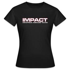 Impact Women's Classic Tshirt (Text Front) - Women's T-Shirt