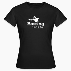 Boxing is life with boxer T-shirts