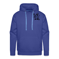 Hoodies & Sweatshirts ~ Men's Premium Hoodie ~ mens hoodie....personalise the back!