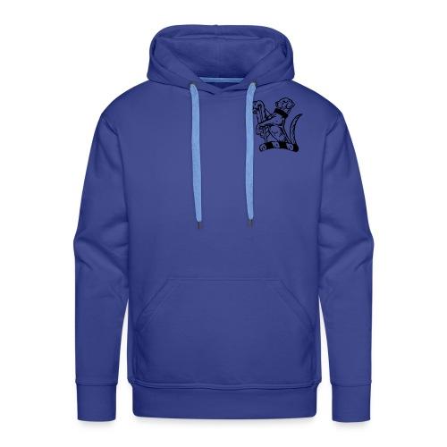 mens hoodie....personalise the back! - Men's Premium Hoodie
