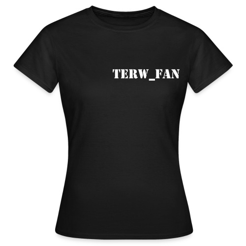 T-shirt TERW_FAN (F) - Vrouwen T-shirt