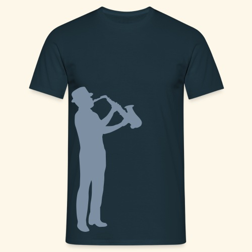 Jazz Mens Shirt Silver - Men's T-Shirt