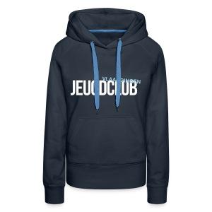Jeugdclub Hoodie Vrouw Navy - Vrouwen Premium hoodie