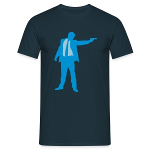 Blue Brother - Männer T-Shirt