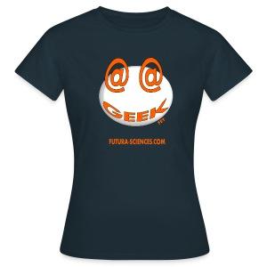 Geek femme  noir - T-shirt Femme
