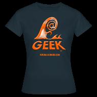 Tee shirts ~ Tee shirt Femme ~ Geekwave femme marine-orange