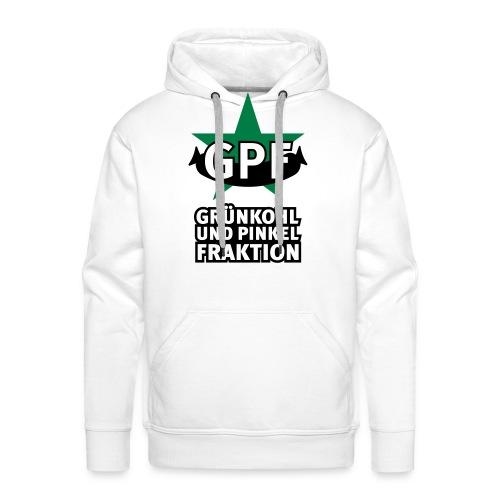 Grünkohl und Pinkel Fraktion Männer-Hoodie für Kohlfahrt - Männer Premium Hoodie