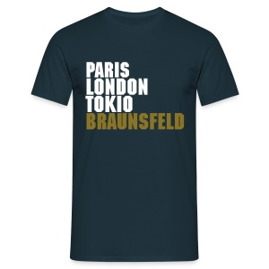 City Lights Braunsfeld -navy- - Männer T-Shirt