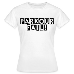 Womens Tee: Parkour Fail! - Women's T-Shirt