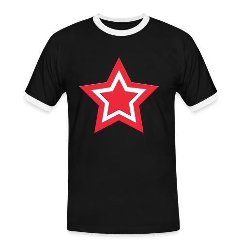 Austrian Star - Männer Kontrast-T-Shirt
