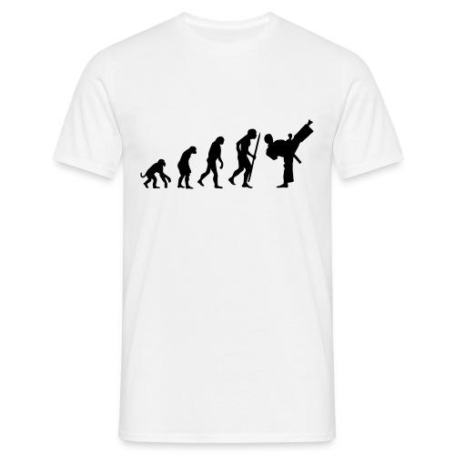 Evolution of TaeKwonDo - Men's T-Shirt
