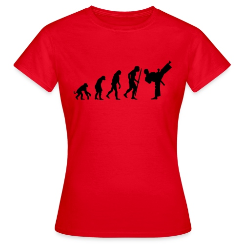 Evolution of TaeKwonDo - Ladies - Women's T-Shirt