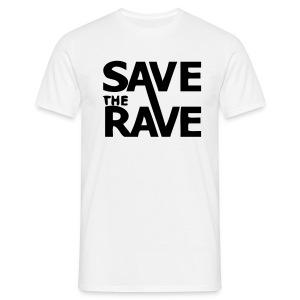 Save the Rave campaign t-shirt - Men's T-Shirt