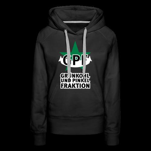 Grünkohl und Pinkel Fraktion Frauen-Hoodie für Kohlfahrt - Frauen Premium Hoodie