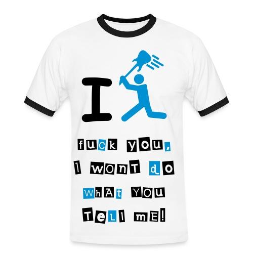 Insoumis - T-shirt contrasté Homme